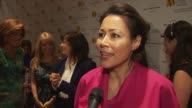 Ann Curry talking about having all of this powerful women together and being a role model for women just starting out at the 2009 Matrix Awards at...