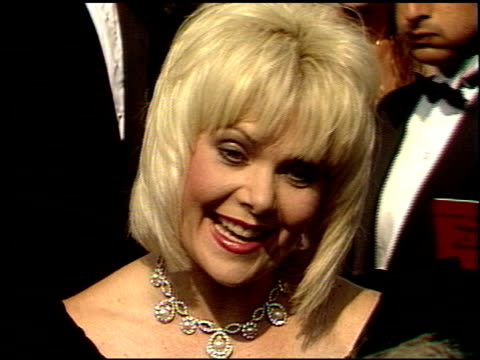 Ann Jillian at the 1988 Emmy Awards Outside at the Pasadena Civic Auditorium in Pasadena California on August 27 1988