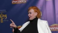 Ann Robinson at the King And I Opening Night at The Pantages Theatre on December 15 2016 in Hollywood California
