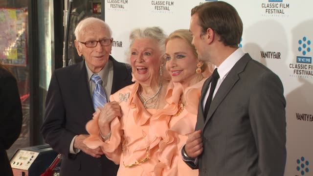 Ann Rutheford Anne Jeffreys at the TCM Classic Film Festival Opening Night Screening Of 'A Star Is Born' at Hollywood CA