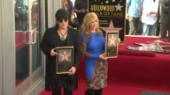 Ann Wilson and Nancy Wilson at Heart Honored with Star on the Hollywood Walk of Fame on 9/25/12 in Hollywood CA