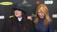 Ann Wilson Nancy Wilson at 28th Annual Rock and Roll Hall Of Fame Induction Ceremony Arrivals 4/18/2013 in Los Angeles CA