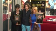 Ann Wilson Rufus Wainwright and Nancy Wilson at Heart Honored with Star on the Hollywood Walk of Fame on 9/25/12 in Hollywood CA