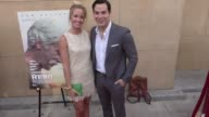 Anna Camp and Skylar Astin at the Premiere Of The Orchard's 'The Hero' Arrivals on June 05 2017 in Hollywood California