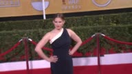 Anna Chlumsky at 20th Annual Screen Actors Guild Awards Arrivals at The Shrine Auditorium on in Los Angeles California