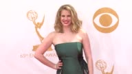 Anna Chlumsky at the 65th Annual Primetime Emmy Awards Arrivals in Los Angeles CA on 9/22/13