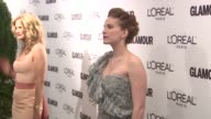 Anna Chlumsky at the Glamour Magazine Honors The 2010 Women Of The Year Red Carpet at New York NY