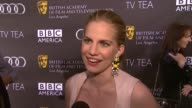 INTERVIEW Anna Chlumsky on being a part of the afternoon the last time she had high tea at BAFTA LA TV Tea 2013 Presented By BBC America And Audi on...