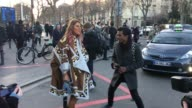 Anna Dello Russo arrives at the Rick Owens show as part of the Paris Fashion Week Womenswear Fall/Winter 2016/2017 on March 3 2016 in Paris France