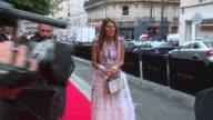 Anna Dello Russo at Bulgari New Collection Presentation arrivals at Apicius on July 08 2014 in Paris France