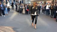 Anna Dello Russo at Celebrity Sightings in Paris on October 3 2016 in Paris France