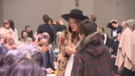 Anna Dello Russo at Chloe PFW A/W 2015 at Grand Palais on March 08 2015 in Paris France