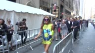 Anna Dello Russo at Spring 2013 MercedesBenz Fashion Week at Lincoln Center in New York NY on 09/13/12