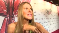INTERVIEW Anna Dello Russo on what makes Lancome special at Lancome Lanvin party on July 02 2013 in Paris France
