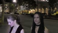 Anna DeVille Kira Noir talk about AVN Award Nomination arriving to the AVN Awards Nomination Party at Avalon Nightclub in Hollywood on November 17...