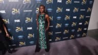 Anna Diop and Ashley Thomas at'24 LEGACY' Premiere Event Red Carpet at Spring Studios on January 30 2017 in New York City