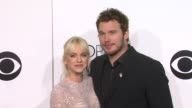 Anna Faris and Chris Pratt at the 40th Annual People's Choice Awards Arrivals at Nokia Theatre LA Live on in Los Angeles California