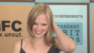 Anna Faris at the The 21st Annual IFP Independent Spirit Awards in Santa Monica California on March 4 2006