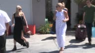 Anna Faris Busy Philipps depart a Private Party in Brentwood in Celebrity Sightings in Los Angeles