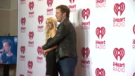 Anna Faris Chris Pratt at 2014 iHeartRadio Music Festival And Village Day 2 at MGM Grand on September 20 2014 in Las Vegas Nevada