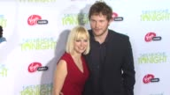 Anna Faris Chris Pratt at the 'Take Me Home Tonight' Premiere at Los Angeles CA