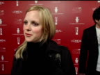 Anna Faris on dressing for the red carpet and her new independent film at the 2006 Weinstein Company PreOscar Party at the Pacific Design Center in...