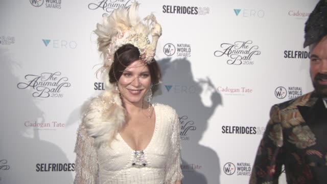Anna Friel Jack Guinness at The Animal Ball 2016 hosted by The Elephant Family on November 22 2016 in London England