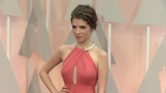 Anna Kendrick at 87th Annual Academy Awards Arrivals at Dolby Theatre on February 22 2015 in Hollywood California