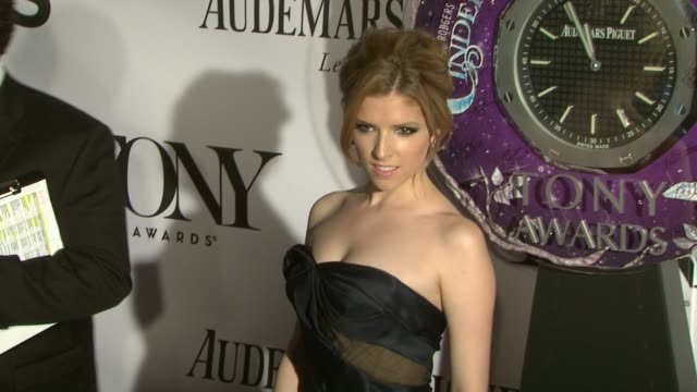 Anna Kendrick at The 67th Annual Tony Awards Arrivals at Radio City Music Hall on June 09 2013 in New York New York