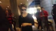 Anna Kendrick departs Los Angeles International Airport in Celebrity Sighting in Los Angeles