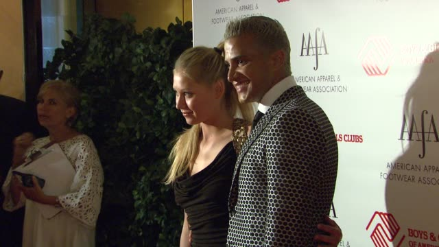 Anna Kournikova and Jay Manuel at the THE 2007 AAFA American Image Awards at the Grand Hyatt Hotel in New York New York on May 14 2007