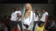Anna Kournikova and models at the KSwiss Kicks Off Open Week Fever With 'Play Nice' Runway Show Party at New York NY