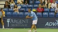 Anna Kournikova Andy Roddick Pete Sampras and Rennae Stubbs at the Advanta Presents WTT Smash Hits Celebrity Tennis Tournament at Bren Center...