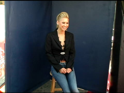 Anna Kournikova at the 2005 Teen Choice Awards Exclusive onsite Portrait Studio at the Universal Amphitheatre in Universal City California on August...