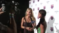 Anna Kournikova at the KSwiss Kicks Off Open Week Fever With 'Play Nice' Runway Show Party at New York NY