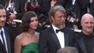 Anna Mouglalis and Mads Mikkelsen at the Cannes Film Festival 2009 Closing Steps Coco Chanel Igor Stravinsky at Cannes