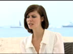 Anna Mouglalis on researching the role at the Cannes Film Festival 2009 Coco Chanel and Igor Stravinsky Interview at Cannes