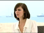 Anna Mouglalis on what she did to get into the role at the Cannes Film Festival 2009 Coco Chanel and Igor Stravinsky Interview at Cannes