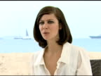 Anna Mouglalis on what she liked about her character in the film at the Cannes Film Festival 2009 Coco Chanel and Igor Stravinsky Interview at Cannes