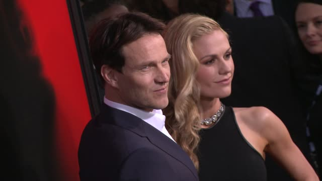 Anna Paquin Alexander Skarsgard at Premiere Of HBO's True Blood Season 6 on 6/11/2013 in Hollywood CA