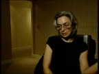 INT Anna Politkovskaya interviewed SOT translated As a human being he should have said straight away that there were more than 1000 hostages and that...