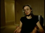 INT Anna Politkovskaya interviewed SOT translated I consider it first of all a 'State' commission / In Russia the word State is in no way associated...