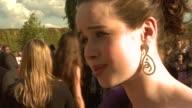 Anna Popplewell at the Prince Caspian European Premiere at London
