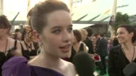 Anna Popplewell on how Ben Barnes is such a great guy at the Prince Caspian European Premiere at London