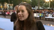 Anna Popplewell on Zac Efron at the The Death and Life of Charlie St Cloud UK Premiere at London England