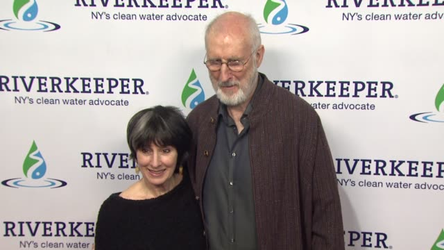 Anna Stuart and James Cromwell at Riverkeeper's 50th Anniversary Fishermen's Ball at Pier Sixty at Chelsea Piers on May 18 2016 in New York City