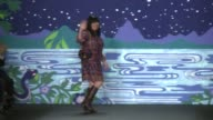 Anna Sui at Anna Sui Spring 2014 MercedesBenz Fashion Week in New York NY on 9/11/13