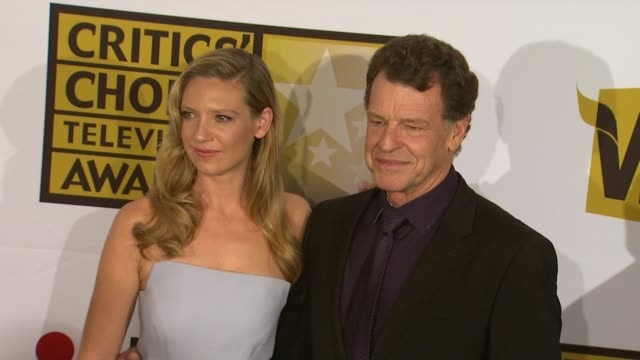 Anna Torv and John Noble at the Critics' Choice Television Awards Luncheon at Beverly Hills CA