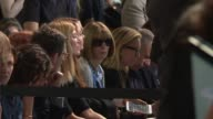 Anna Wintour and front row guests at Michael Kors Collection New York Fashion Week Spring 2018 at Spring Studio on September 12 2017 in New York City
