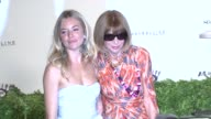 Anna Wintour and Sienna Miller at the New York Special Screening of The September Issue at New York NY